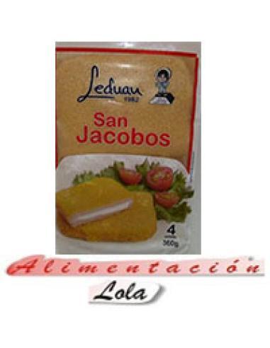 San jacobos leduan 4 unidades (380 g) - Imagen 1