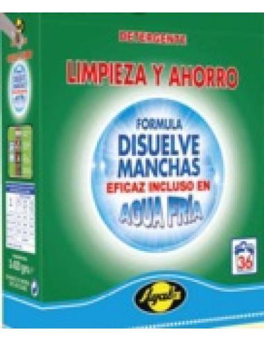 Detergente ayala polvo tambor (36 ca) - Imagen 1