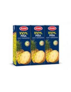 Zumo juver piña pack (3 x 200 ml) - Imagen 1