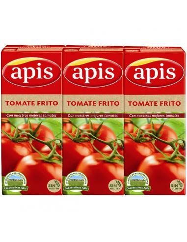 Tomate Apis Frito Cartón  (pack- 3 x 215 g) - Imagen 1