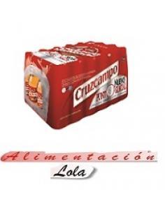 Cerveza cruzcampo bandeja 25 cl (24 unidades) - Imagen 1