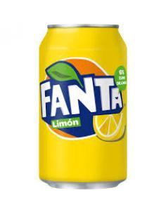 Lata fanta limón (330 ml) - Imagen 1