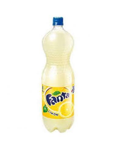 Refresco fanta limón (2 litros) - Imagen 1