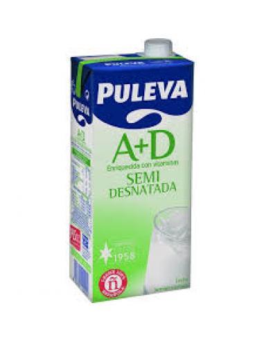 Leche puleva semi desnatada (1l) - Imagen 1