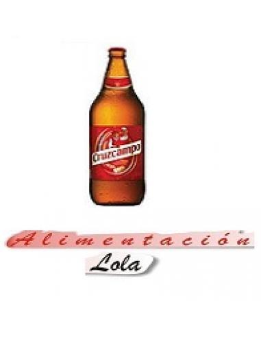 Cerveza cruzcampo (1 litro) - Imagen 1