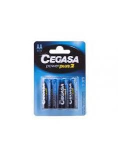 Pilas cegasa AA R6 1.5V (Pack 4) - Imagen 1