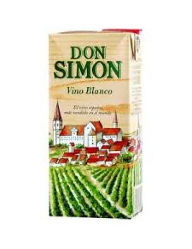 Vino blanco don simón (1 litro) - Imagen 1
