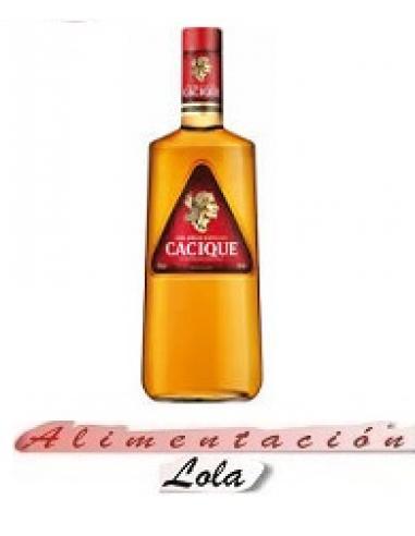 Botellona Ron cacique botella (0.70 cl) - Imagen 1
