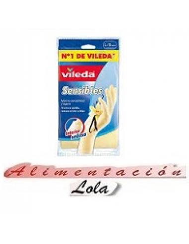 Guantes Vileda Sensibles  (talla l ) - Imagen 1