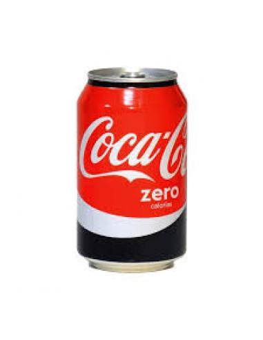 Lata coca cola zero (330 ml) - Imagen 1
