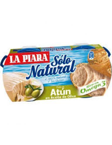 Paté atún en aceite oliva (pack 2) - Imagen 1
