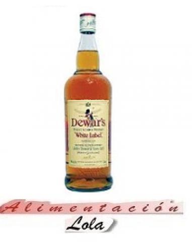 Botellona Whisky white label  (1 litro) - Imagen 1