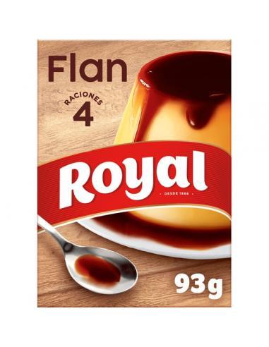Flan royal con caramelo líquido (4 flanes) - Imagen 1