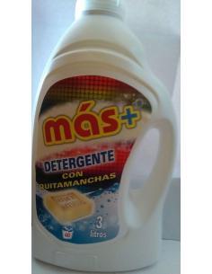 Más detergente quitamanchas jabón marse (3l) - Imagen 1