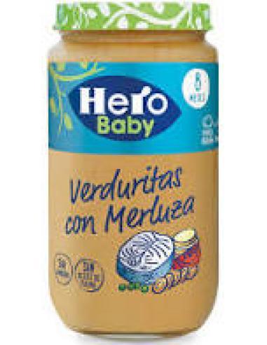 Potito hero baby verduritas con merluza (235 g) - Imagen 1
