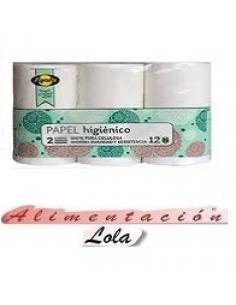 Papel higiénico Ayala (pack 12) - Imagen 1