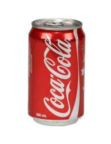 Lata coca cola normal (330 ml) - Imagen 1