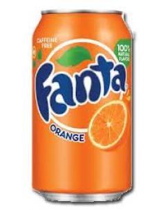Lata fanta naranja (330 ml) - Imagen 1