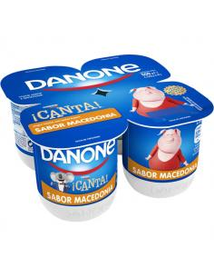 Yogur macedonia danone (pack 4) - Imagen 1