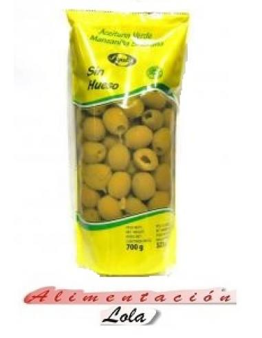 Aceitunas sin hueso ayala (700 g) - Imagen 1