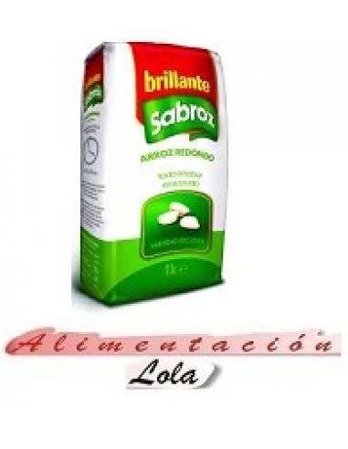 Arroz brillante redondo sabroz (1 kilo) - Imagen 1