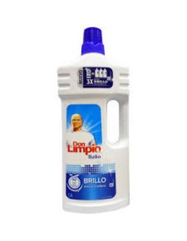 Don limpio baño 3 x brillo (1.3 l) - Imagen 1