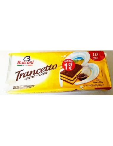 Dulces balconi trancetto cacao (pack 10) - Imagen 1