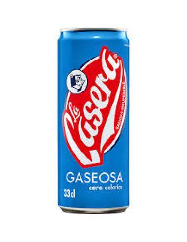 La casera gaseosa 0 calorías (33 cl) - Imagen 1