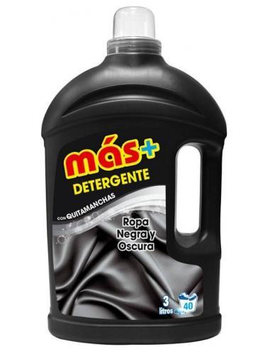 Más detergente ropa negra quitamanchas (3l) - Imagen 1