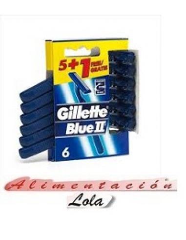 Cuchillas gillette blue II (pack 6) - Imagen 1