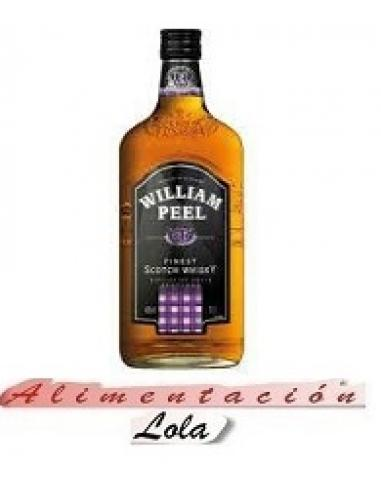 Botellona William peel whisky botella (0.70 cl) - Imagen 1