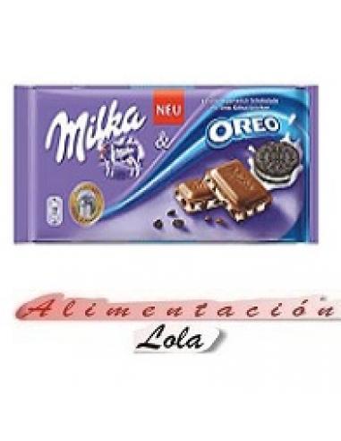 Milka oreo chocolate (100 g) - Imagen 1