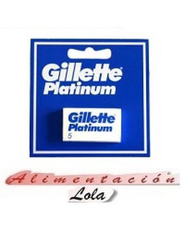 Cuchillas gillette platinum (5 hojas) - Imagen 1
