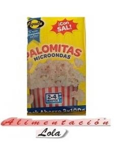 Palomitas Microondas Ayala Pack Ahorro (3X100 g) - Imagen 1