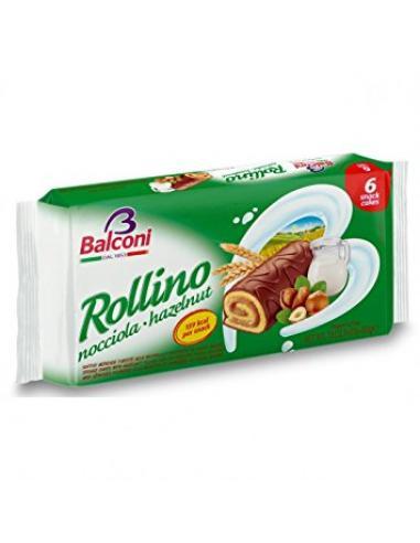 Rollino Balconi  snack cakes (6 unidades) - Imagen 1