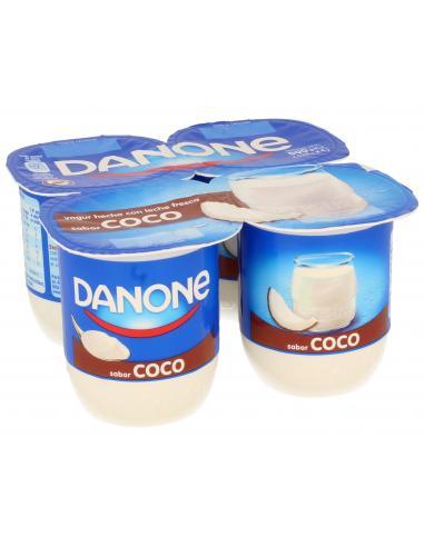 Yogur danone de coco (pack 4) - Imagen 1