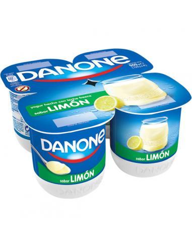 Yogur danone de limón (pack 4) - Imagen 1