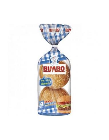 Pan bimbo burger (pack 4) - Imagen 1