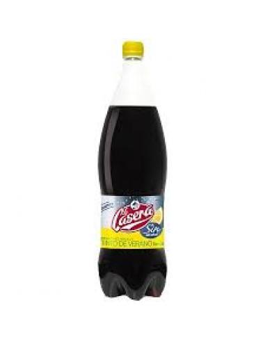 Vino tinto la casera con limón alcohol (1.5l) - Imagen 1