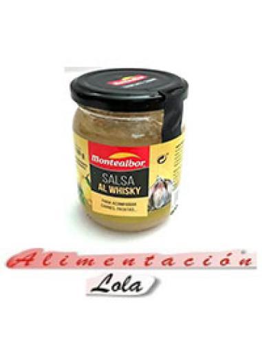 Salsa al whisky Montealbor (180 g) - Imagen 1