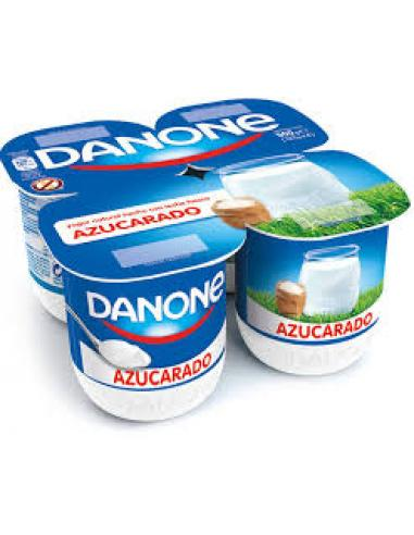 Danone natural azucarado (pack 4) - Imagen 1