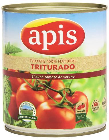 Tomate apis triturado  (800 g) - Imagen 1