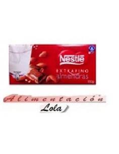 Chocolate Nestle leche y Almendra(123g) - Imagen 1