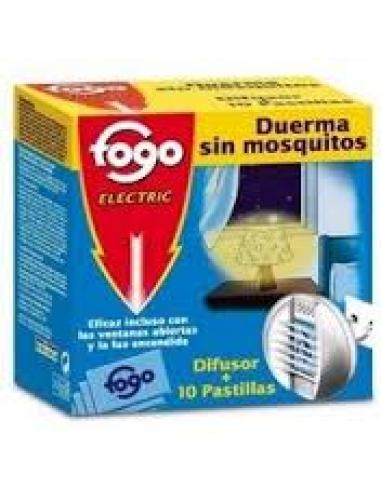 Fogo Electric Difusor + 10 pastillas - Imagen 1