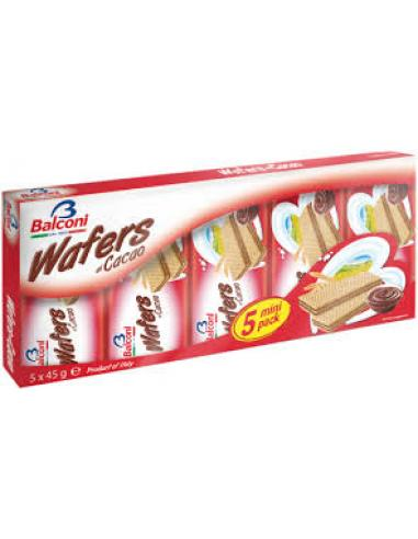 Wafers al Cacao Balconi (225 g) - Imagen 1