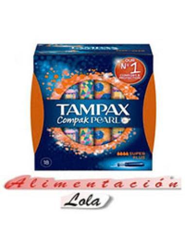 Super flus tampax compa, pearl (18u) - Imagen 1