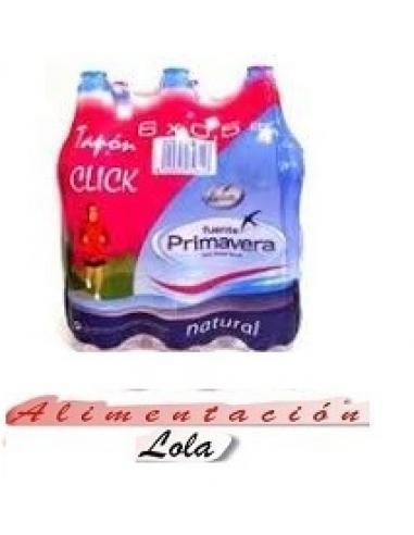 Agua fuente primavera niños (pack 6) - Imagen 1