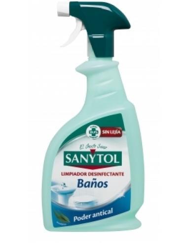 Sanytol Limpiador desinfectante baños (750 ml) - Imagen 1