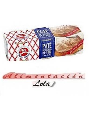 Paté de higado de cerdo pamplonica (pack 3) - Imagen 1