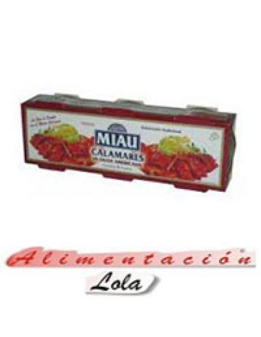 Calamares Miau en salsa americana (pack 3) - Imagen 1